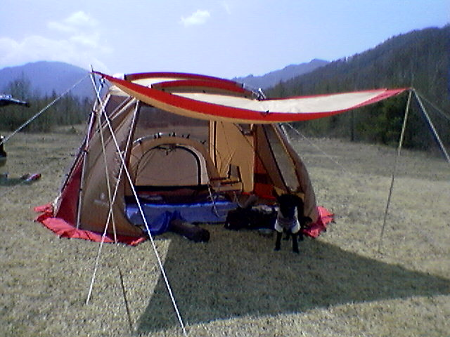 キャンプ初日!